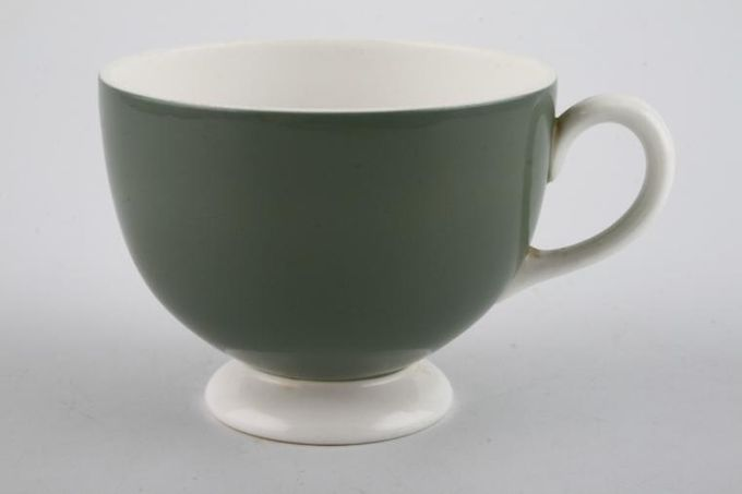 Wedgwood Asia - Green - No Pattern Teacup 3 1/4 x 2 5/8""