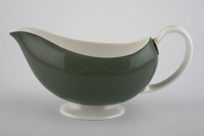 Wedgwood Asia - Green - No Pattern Sauce Boat
