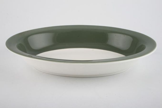 Wedgwood Asia - Green - No Pattern Vegetable Dish (Open) 10""