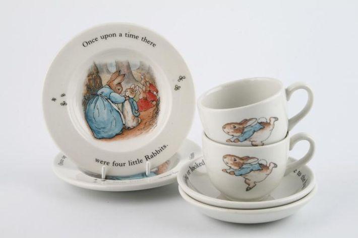Wedgwood Peter Rabbit - Children's Tea Set