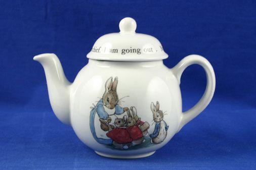 Wedgwood Peter Rabbit - Children's Tea Set Children's Tea Set Item Tea pot 1/2pt
