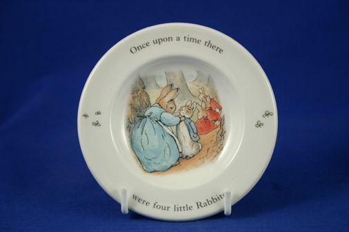 "Wedgwood Peter Rabbit - Children's Tea Set Children's Tea Set Item Plate 4 1/4"""