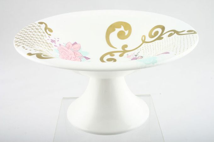 """Wedgwood Ethereal 101 Comport Wedgwood 'Ethereal' Decorated 6 7/8 x 3 3/8"""""""