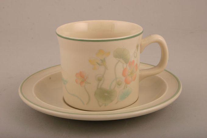 "Wedgwood Nasturtium - O.T.T. - Sterling Shape Tea Saucer See Granada Shape 6"""