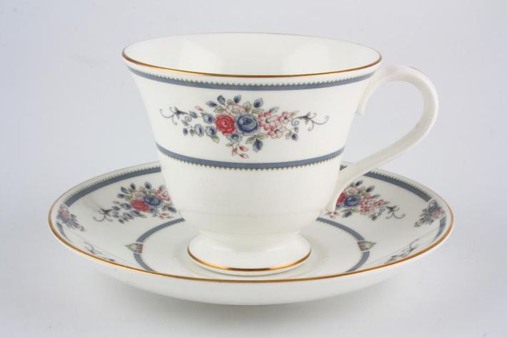 Wedgwood Charlotte - Blue and Pink Flowers